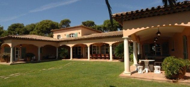 The most luxurious villa in Saint Tropez