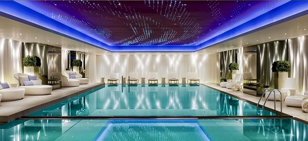 10 Luxury Indoor Swimming Pool Design Ideas | The Most Expensive Homes