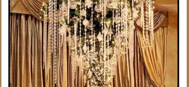 10 luxury christmas trees you will want to see 10 luxury christmas trees you will want to see 10 luxury christmas trees you will want to see 2012 Crystal Gems Luxury Upside Down Christmas Tree1