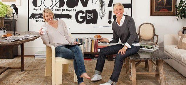 Ellen DeGeneres Vintage Mansion in Montecito