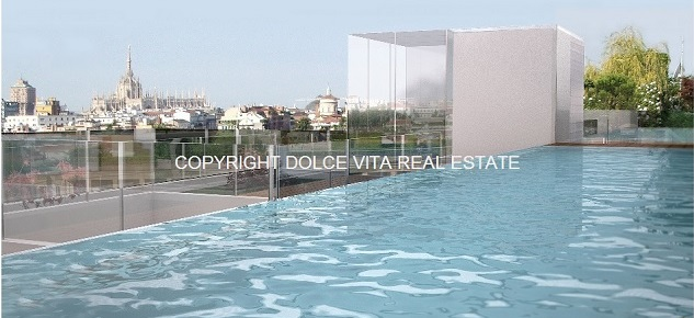 Luxury loft in Milan