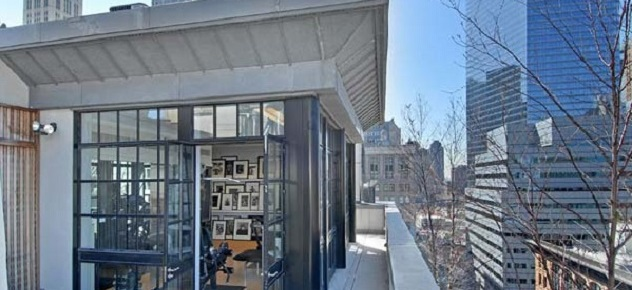 A Luxurious New York Penthouse New York penthouse A Luxurious New York Penthouse tribeca modern penthouse NYDA 31