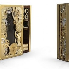 A hyper-luxury steampunk safe you will want to see A hyper-luxury steampunk safe you will want to see A hyper-luxury steampunk safe you will want to see Limited edition furniture a steampunk inspired safe1 228x230