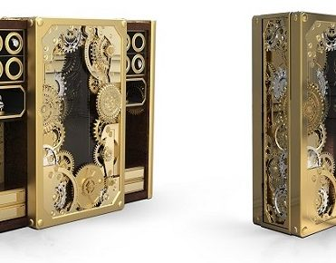 A hyper-luxury steampunk safe you will want to see A hyper-luxury steampunk safe you will want to see A hyper-luxury steampunk safe you will want to see Limited edition furniture a steampunk inspired safe1 371x290