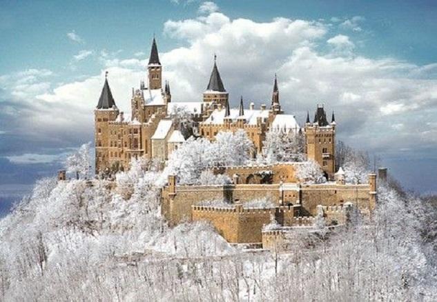 """palatial estates:Castle Hohenzollern, Germany"""