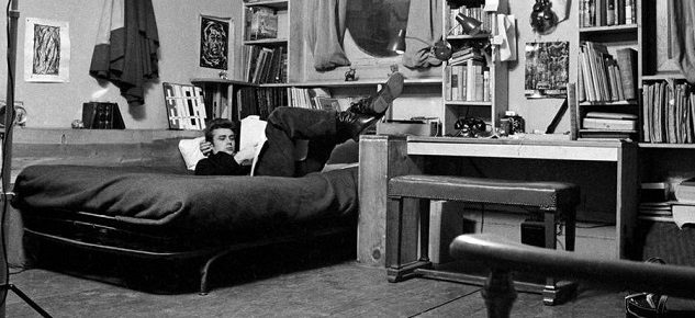 10 Incredible Hollywood Vintage Mansions: How the Stars Lived [object object] 10 Incredible Hollywood Vintage Mansions: How the Stars Lived james dean new york apartment1 633x290