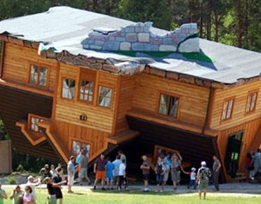 Is this for real? 10 of the world's most unconventional house designs Is this for real? 10 of the world's most unconventional house designs Is this for real? 10 of the world's most unconventional house designs Upside down house Poland 11 371x290