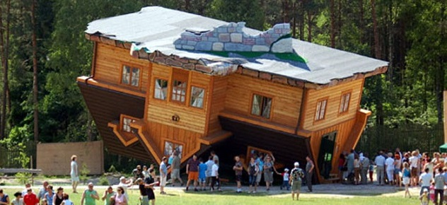 Is this for real? 10 of the world's most unconventional house designs Is this for real? 10 of the world's most unconventional house designs Is this for real? 10 of the world's most unconventional house designs Upside down house Poland 11