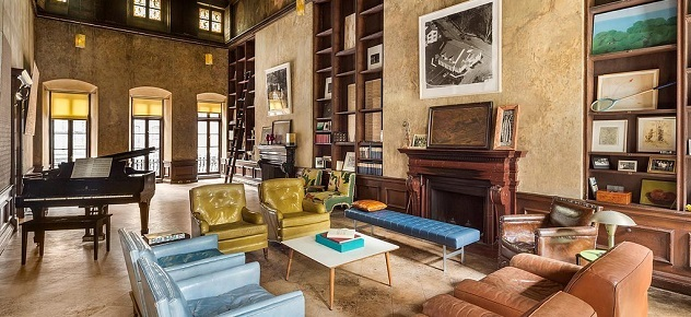 Mary-Kate Olsen's Epic New York Townhouse new york townhouse Mary-Kate Olsen's Epic New York Townhouse Formerly owned painter David Deutsch home filled1