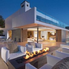 Luxury Terraces: 10 Outdoor Design Ideas With Fireplace