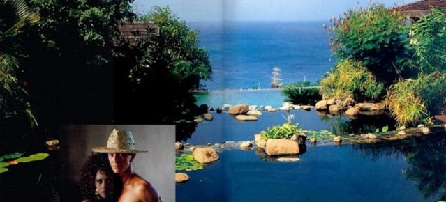 Celebrity Homes: David Bowie's Balinese inspired Villa