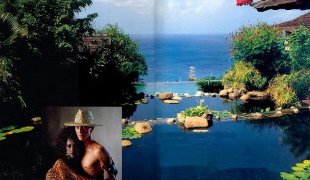 Celebrity Homes: David Bowie's Balinese inspired Villa