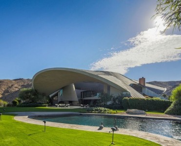 A hymn to modern architecture A hymn to modern architecture A hymn to modern architecture bob hopes space age palm springs home on the market 01 371x300