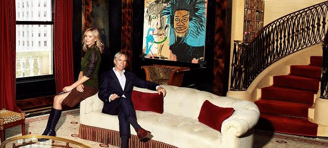 Tommy Hilfiger's New York Penthouse: a staggering old world glamour