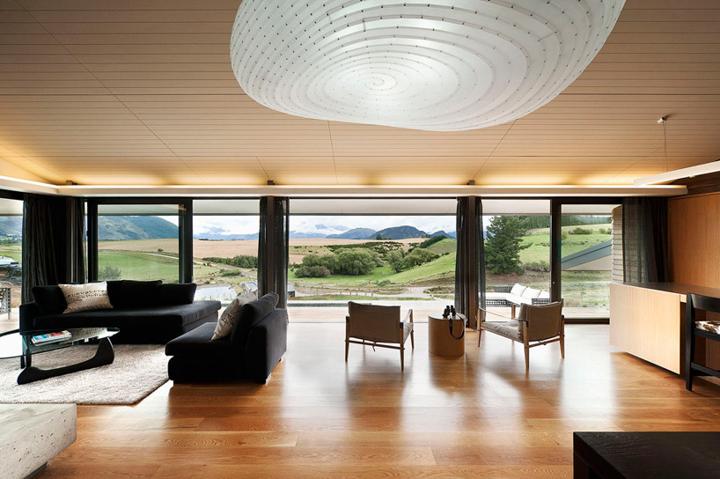 Hawkebury Estate Farm Managers House, Wanaka, New Zealand Hawkesbury residence by Marmol Radziner Hawkesbury residence by Marmol Radziner Best interior designers top interior designers Marmol Radziner 15