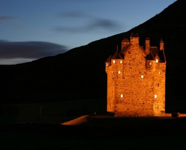 Forter Castle by Katharine Pooley