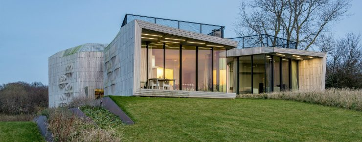 The W.I.N.D. house by Ben van Berkel