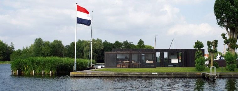 Amazing Floating home by Piet Boon