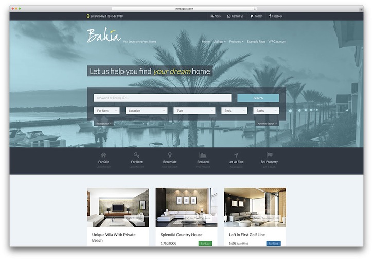50 Stylish and Responsive Real Estate WordPress Themes ➤ To see more news about The Most Expensive Homes around the world visit us at www.themostexpensivehomes.com #mostexpensive #mostexpensivehomes #themostexpensivehomes @expensivehomes real estate wordpress themes 50 Stylish and Responsive Real Estate WordPress Themes (Part 1) 50 Stylish and Responsive Real Estate WordPress Templates 8