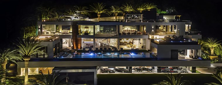 this bel air luxury mansion is americas most expensive home