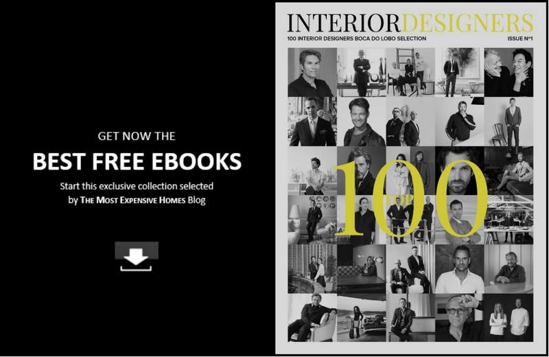 Download Free eBooks and Get the Most Exclusive Decorating Ideas - @expensivehomes has selected 10 awesome eBooks where you will find the trendiest home design inspiration for your next interior design projects. ➤ To see more news about The Most Expensive Homes around the world visit us at www.themostexpensivehomes.com #mostexpensive #mostexpensivehomes #themostexpensivehomes @brabbu @bocadolobo