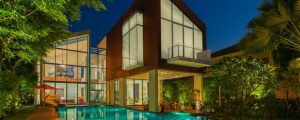Sentosa Cove Residence is a Stunning Luxury Modern Home