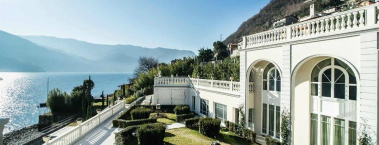 Lake Como Homes: This Sweeping Laglio Villa Has Been Listed for Sale