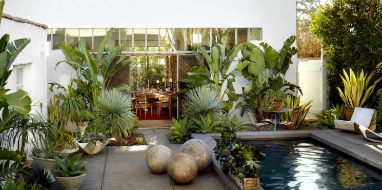 Gaze at Kathryn M. Ireland's Bohemian Styled Santa Monica Home