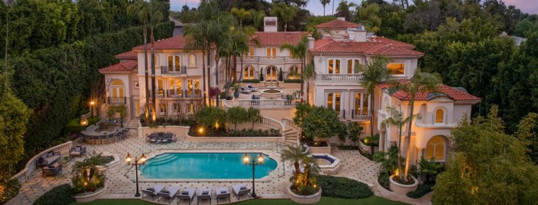 This Private and Gorgeous Bel Air Villa Is a Mediterranean Masterpiece