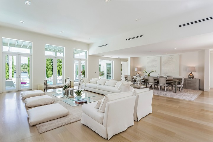 Celebrity Homes Shakira's Listed her Contemporary Miami Beach Mansion 4