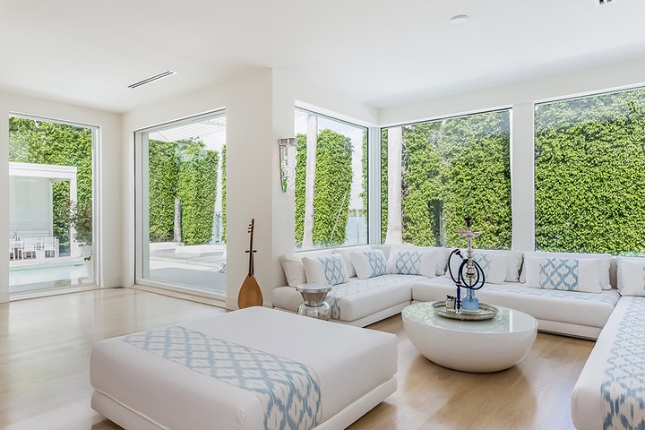 Celebrity Homes Shakira's Listed her Contemporary Miami Beach Mansion 8