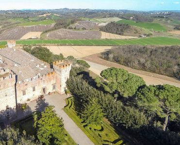 The Mesmerizing Brunelleschi Castle Complex in Tuscany Is Now for Sale