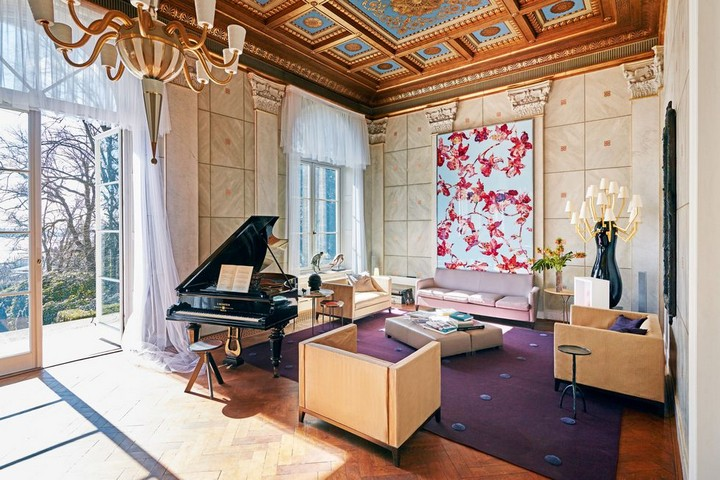 Karl Lagerfeld's Exquisite German Villa Could Be Yours for $11.65M 3