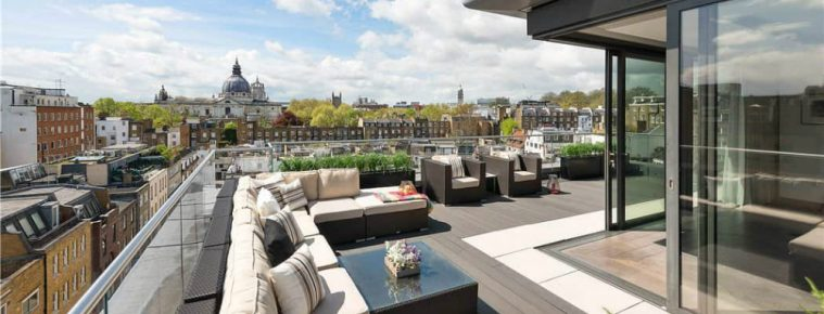 This Amazing Knightsbridge Penthouse Is Up for Grabs For £24.5 Million