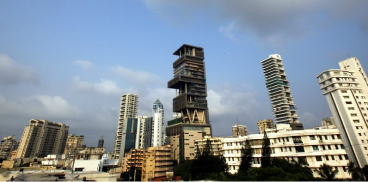 The Outrageous 27-Storey Antilia Is the Most Expensive Home in India most expensive home The Outrageous 27-Storey Antilia Is the Most Expensive Home in India featured 1 745x370