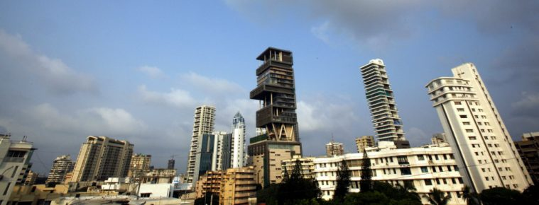 The Outrageous 27-Storey Antilia Is the Most Expensive Home in India