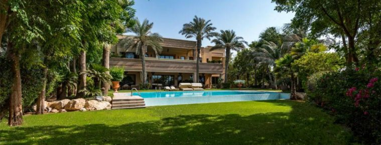 A Dazzling and Bespoke Emirates Hills Villa Hits the Market for $34M