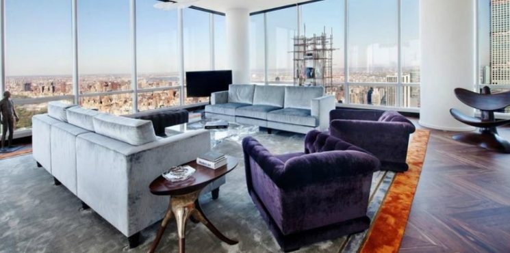 An Exquisitely Designed Apartment of Manhattan's One57 Sells for $42M
