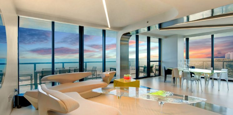 The Former Miami Residence of the Legendary Zaha Hadid Has Been Sold