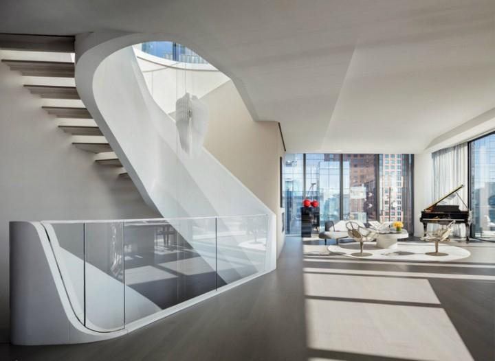 Inside a $50 Million NYC Penthouse Designed by Zaha Hadid Architects 1