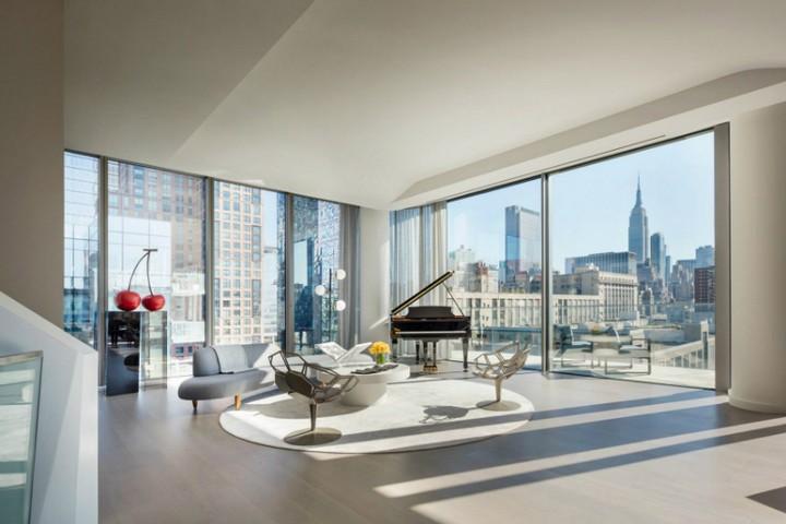 Inside a $50 Million NYC Penthouse Designed by Zaha Hadid Architects 2