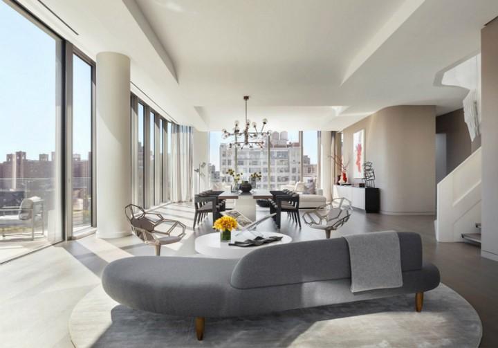 Inside a $50 Million NYC Penthouse Designed by Zaha Hadid Architects 3