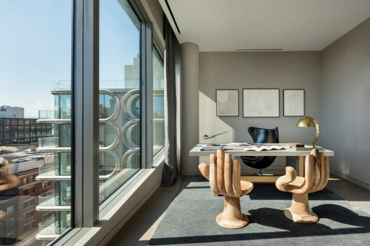 Inside a $50 Million NYC Penthouse Designed by Zaha Hadid Architects 7