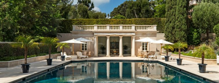 Observe the Marvelous Landscape Design of a $245M Los Angeles Mansion