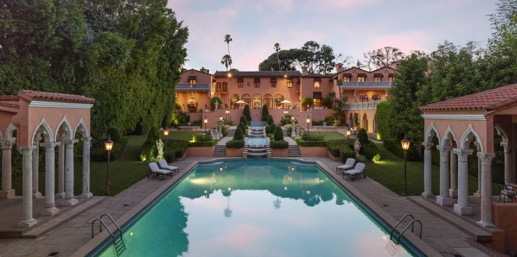 Discover The Beverly House, The 135 Million Dream House beverly house Discover The Beverly House, The 135 Million Dream House 1011BeverlyDr 04 745x370