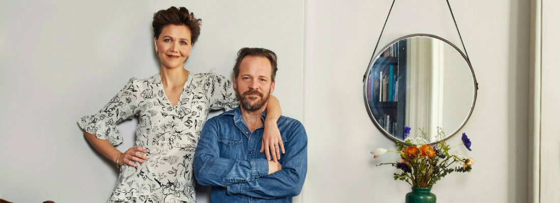Celebrity homes inside Maggie Gyllenhaal and Peter Sarsgaard's house Celebrity homes Celebrity homes: inside Maggie Gyllenhaal and Peter Sarsgaard's house Celebrity homes inside Maggie Gyllenhaal and Peter Sarsgaards house f