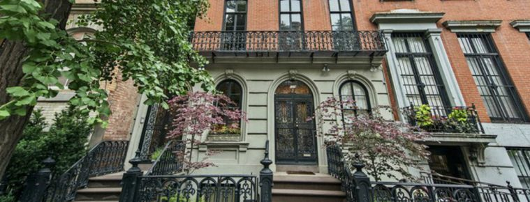 Mary Kate Olsen's two townhouses hit the market for $16-million 2 Mary Kate Olsen Mary Kate Olsen's two townhouses hit the market for $16-million Mary Kate Olsen   s two townhouses hit the market for 16 million 759x290