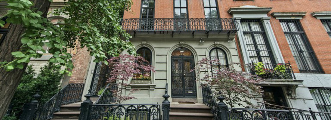Mary Kate Olsen's two townhouses hit the market for $16-million 2 Mary Kate Olsen Mary Kate Olsen's two townhouses hit the market for $16-million Mary Kate Olsen   s two townhouses hit the market for 16 million