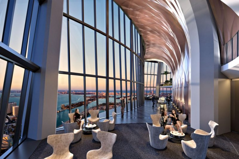 Gaze At Zaha Hadid's Magnificent 1000 Museum  zaha hadid 1000 museum Gaze At Zaha Hadid's Magnificent 1000 Museum 1000 museum sky lounge 2 e1553100914932
