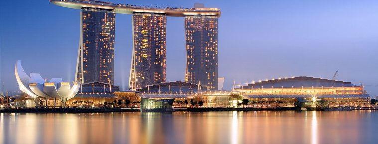 Contemplate Singapore's Iconic Hotel, Marina Bay Sands marina bay sands Contemplate Singapore's Iconic Hotel, Marina Bay Sands 1200px Marina Bay Sands in the evening   20101120 759x290